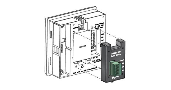 可选的电导率模块
